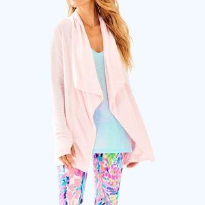 Lilly Pultizer Elyssa Wrap knit cardigan jacket M